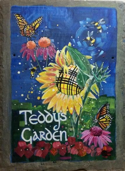 Peggy Macleod's garden